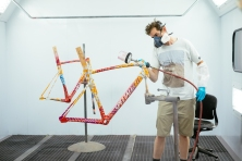 All of the frames were painted by Specialized industrial designer Brian Szykowny.